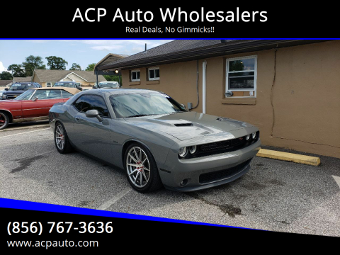 2017 Dodge Challenger for sale at ACP Auto Wholesalers in Berlin NJ