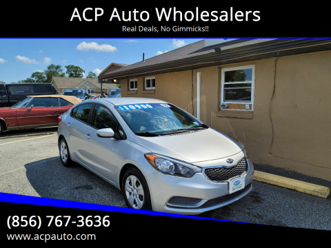 2015 Kia Forte for sale at ACP Auto Wholesalers in Berlin NJ
