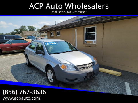 2008 Chevrolet Cobalt for sale at ACP Auto Wholesalers in Berlin NJ
