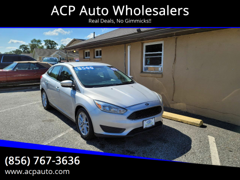2015 Ford Focus for sale at ACP Auto Wholesalers in Berlin NJ