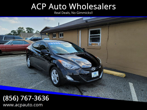 2013 Hyundai Elantra for sale at ACP Auto Wholesalers in Berlin NJ