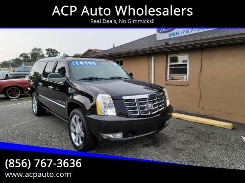 2011 Cadillac Escalade ESV for sale at ACP Auto Wholesalers in Berlin NJ
