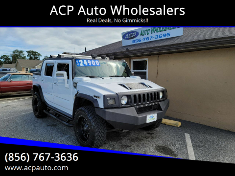 2006 HUMMER H2 SUT for sale at ACP Auto Wholesalers in Berlin NJ