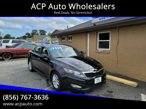 2013 Kia Optima for sale at ACP Auto Wholesalers in Berlin NJ