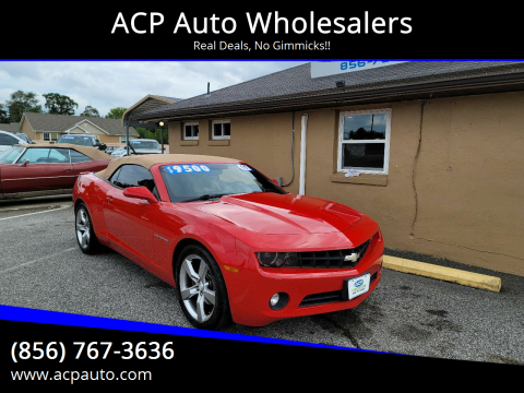 2011 Chevrolet Camaro for sale at ACP Auto Wholesalers in Berlin NJ