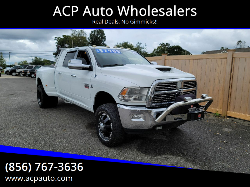 2011 RAM Ram Pickup 3500 for sale at ACP Auto Wholesalers in Berlin NJ