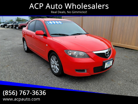 2007 Mazda MAZDA3 for sale at ACP Auto Wholesalers in Berlin NJ