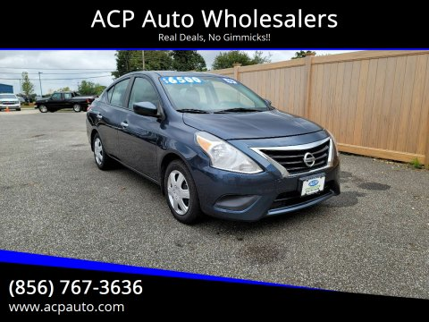 2015 Nissan Versa for sale at ACP Auto Wholesalers in Berlin NJ