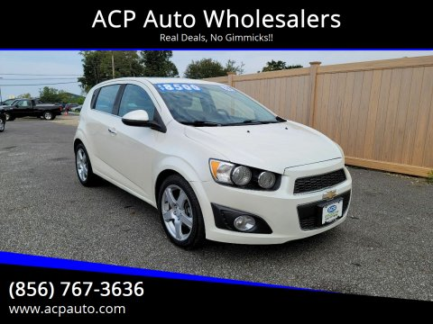 2014 Chevrolet Sonic for sale at ACP Auto Wholesalers in Berlin NJ