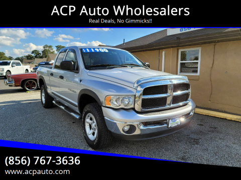 2004 Dodge Ram Pickup 1500 for sale at ACP Auto Wholesalers in Berlin NJ