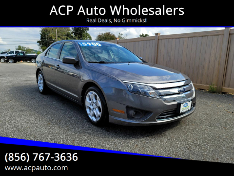 2010 Ford Fusion for sale at ACP Auto Wholesalers in Berlin NJ