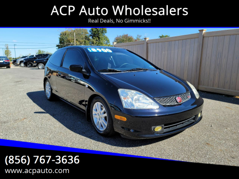 2002 Honda Civic for sale at ACP Auto Wholesalers in Berlin NJ