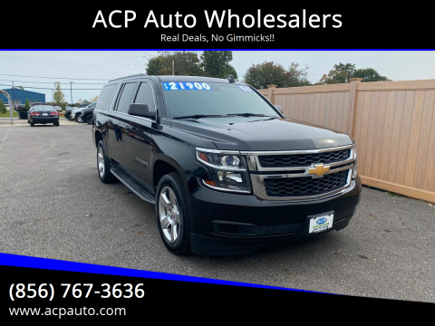 2015 Chevrolet Suburban for sale at ACP Auto Wholesalers in Berlin NJ