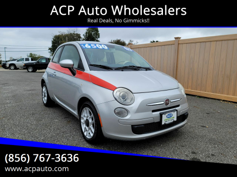 2012 FIAT 500 for sale at ACP Auto Wholesalers in Berlin NJ