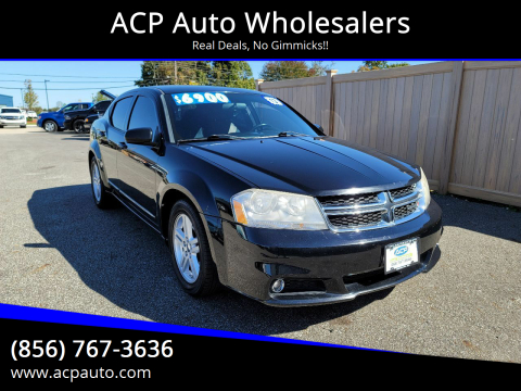 2013 Dodge Avenger for sale at ACP Auto Wholesalers in Berlin NJ