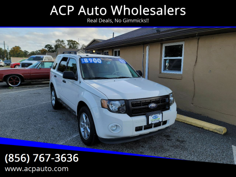 2012 Ford Escape for sale at ACP Auto Wholesalers in Berlin NJ