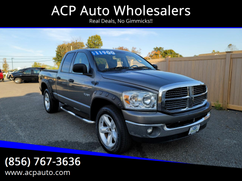 2008 Dodge Ram Pickup 1500 for sale at ACP Auto Wholesalers in Berlin NJ