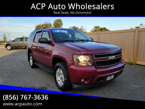 2007 Chevrolet Tahoe for sale at ACP Auto Wholesalers in Berlin NJ