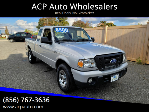 2009 Ford Ranger for sale at ACP Auto Wholesalers in Berlin NJ