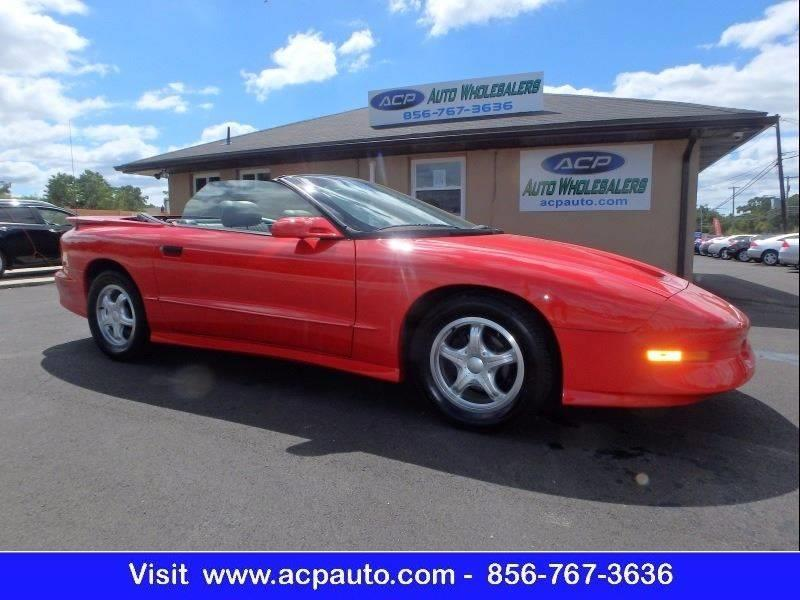 1994 Pontiac Firebird Trans Am GT 2dr Convertible - Berlin NJ