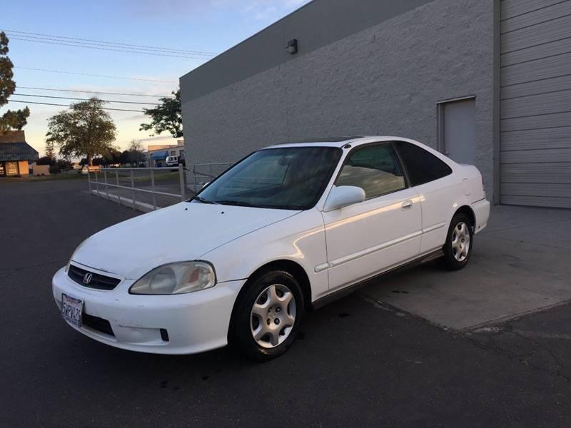 Exceptional 2000 Honda Civic EX 2dr Coupe   Sacramento CA