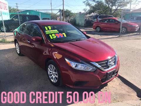 2017 Nissan Altima for sale in El Paso, TX
