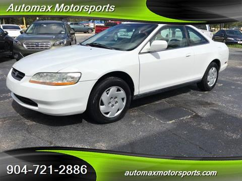 1999 Honda Accord for sale in Jacksonville, FL
