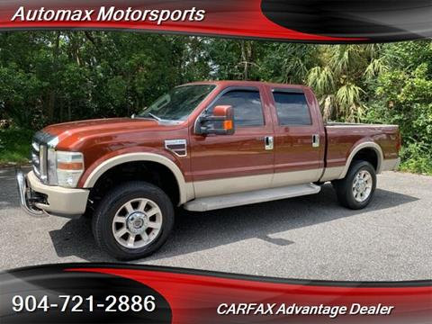 Used Trucks Jacksonville Fl >> 2008 Ford F 350 Super Duty For Sale In Jacksonville Fl