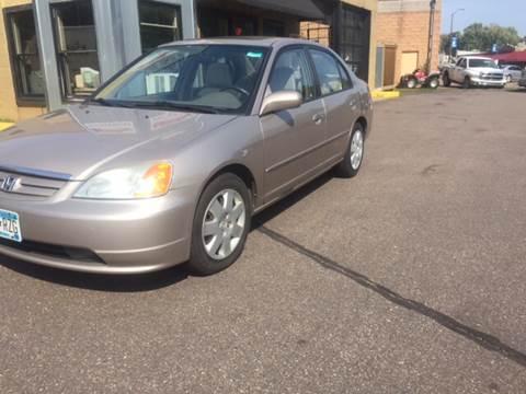 2002 Honda Civic for sale in Bayport, MN