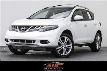 2012 Nissan Murano for sale in Marietta, GA