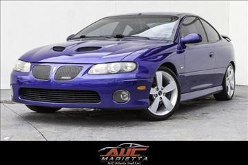 2006 Pontiac GTO for sale in Marietta, GA
