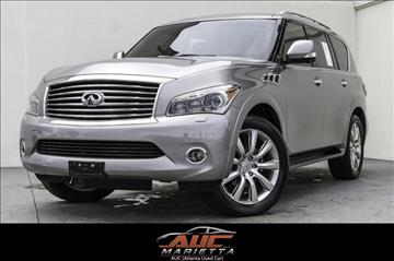 2012 Infiniti QX56 for sale in Marietta, GA