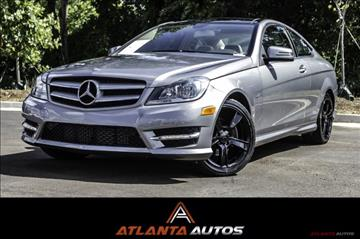 2012 Mercedes-Benz C-Class for sale in Marietta, GA