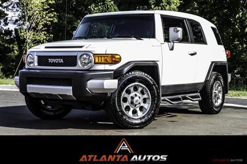 2013 Toyota FJ Cruiser for sale in Marietta, GA