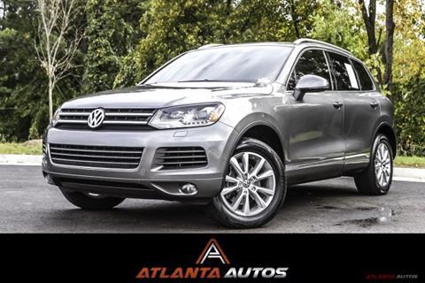 2013 Volkswagen Touareg for sale in Marietta, GA