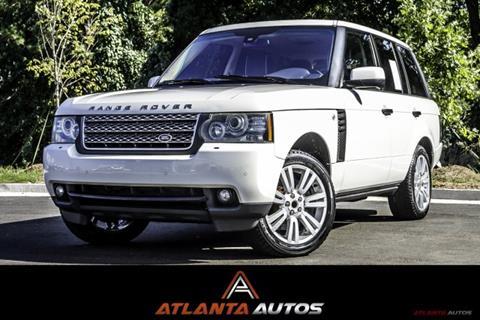 2011 Land Rover Range Rover for sale in Marietta, GA