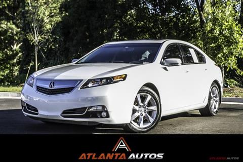 2013 Acura TL for sale in Marietta, GA