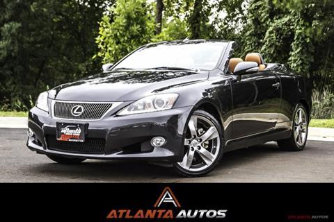 2011 Lexus IS 250C for sale in Marietta, GA