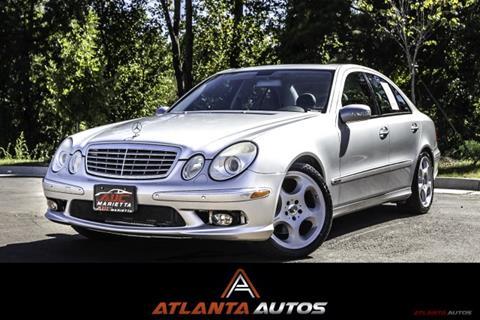 2006 Mercedes-Benz E-Class for sale in Marietta, GA