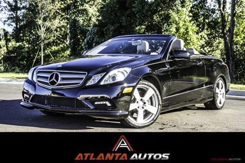 2011 Mercedes-Benz E-Class for sale in Marietta, GA