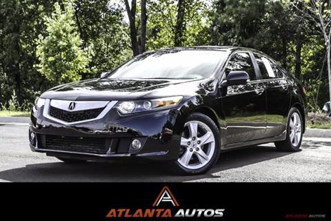 2010 Acura TSX for sale in Marietta, GA