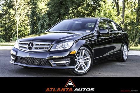 2013 Mercedes-Benz C-Class for sale in Marietta, GA