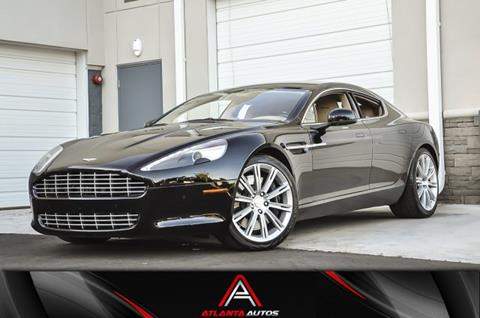 Aston Martin Rapide For Sale Carsforsalecom - Aston martin rapid