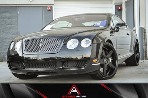 2005 Bentley Continental for sale in Marietta, GA
