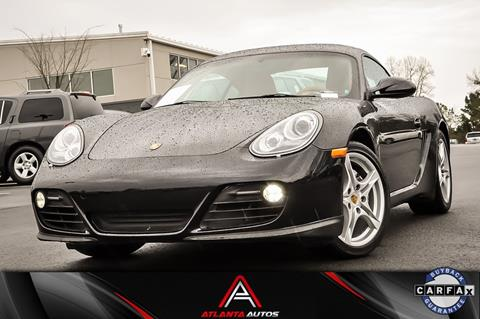 2011 Porsche Cayman for sale in Marietta, GA