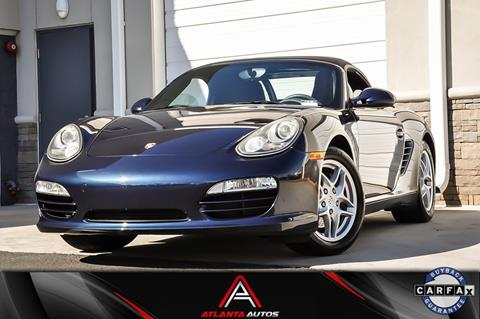 2011 Porsche Boxster for sale in Marietta, GA