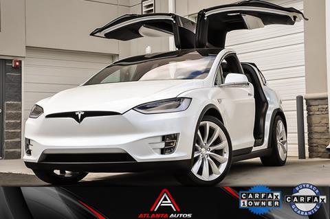 2017 Tesla Model X for sale in Marietta, GA