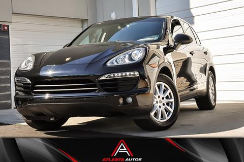 2012 Porsche Cayenne for sale in Marietta, GA