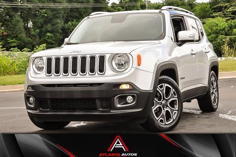 2016 Jeep Renegade for sale in Marietta, GA