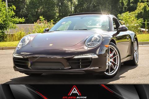 2014 Porsche 911 for sale in Marietta, GA